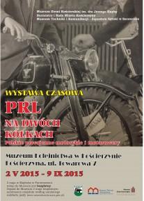 plakat wystawa motory